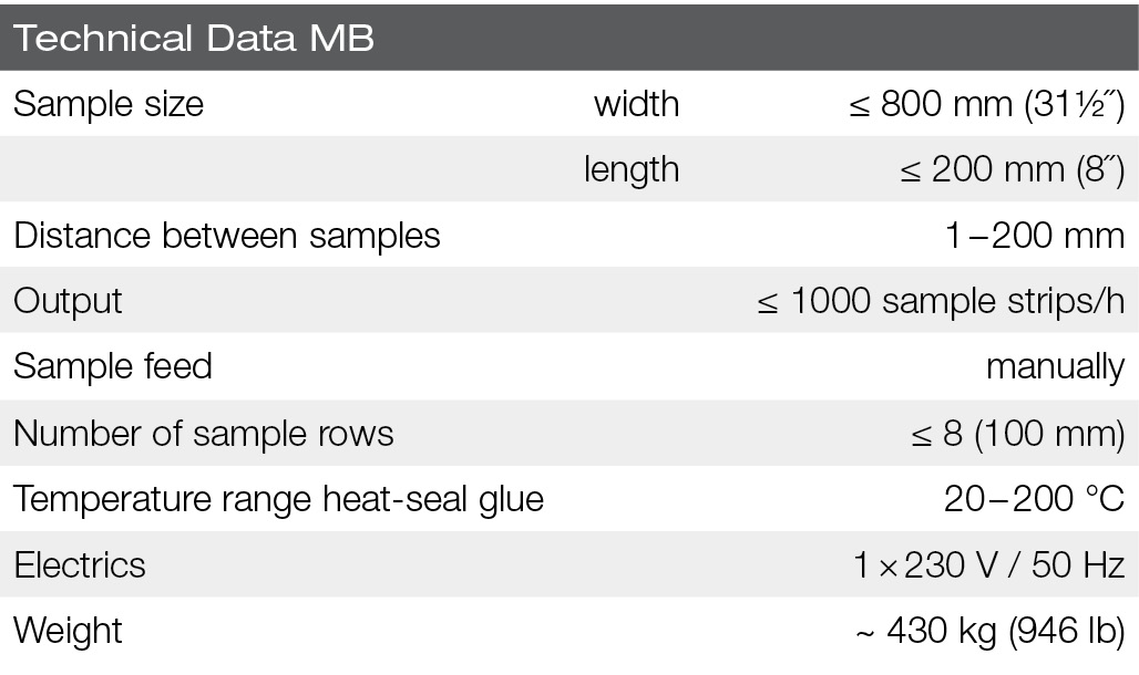 polytex-MB-technical data